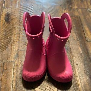Crocs c9 Rain boots (pink)